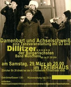 Dillitzer Live im Treibhaus München, 2009