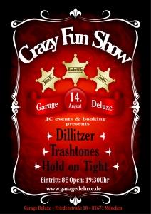 Dillitzer Live in der Garage DeLuxe, Optimolwerke München, 2011