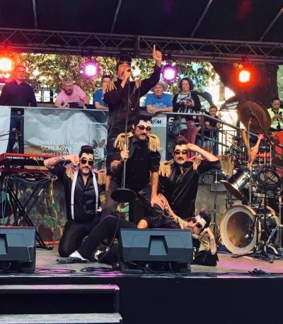 Dillitzer Live auf dem Isarinselfest 2019